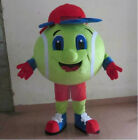 Halloween Tennis ball Mascot Costume Cosplay Party Dress Clothing Carnival Adult