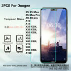 2x Tempered Glass Screen Protector For Doogee  X10 11 20 30 50 X60 X70 80 90 100