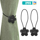 2PCS Magnetic Curtain Tie Backs Clips Ball Buckle Holder Home Window Decor Gift