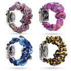 Replacement Wristband Scrunchie Elastic Band Bracelet For Apple Watch 5 4 3 2 1 image