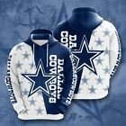 Dallas Cowboys Fans Hoodie Hooded Sweatshirt Sporty Coat Fashion Jacket Gift Hot $19.94 USD on eBay