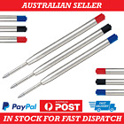 5/10 Black / Blue Ink Refills 1mm Compatible With Parker Pens Ball Point Refill