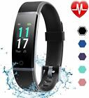 Fitness Activity Tracker Watch Fitbit Heart Rate Monitor Pedometer for Women Men
