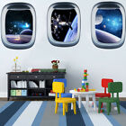 Planet Spaceship Removable Wall Sticker Decal Mural Art Home Room Decor Newly