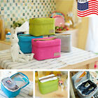 Portable Insulated Thermal Cooler Lunch Box Bag Pouch Picnic Storage Bento