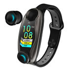 LEMFO LT04 2in1 SmartWatch mit Kopfhörer bluetooth Smart Band Armband Pulsmesser