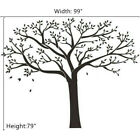 Black Family Tree Sticker Wall Sticker Removable DIY Art Vinyl Mural Home Decor
