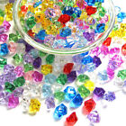 Acrylic Pirate Bulk Colored Jewels Gems Faux Diamond Crystals Treasure Gems