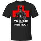 To Nurse and Protect Star Wars The Mandalorian T-Shirt Size M-3XL $16.95 USD on eBay