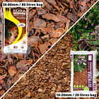 WOODEN BARK Mulch Chippings wood Landscaping Garden Surfacing Flower QUALITY