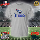 TEN Tennessee Titans T-Shirt Graphic Cotton Logo TIT Jersey Men Adult Shirt 001 $16.99 USD on eBay
