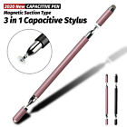 3 in 1 Touch Screen Pen Stylus Drawing For iPhone iPad Samsung Tablet Cell Phone