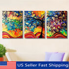 Kyпить 3Pcs Abstract Colorful Tree Canvas Print Art Painting Picture Home Wall Decor B на еВаy.соm