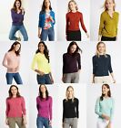 M&S Marks Spencer MS Round Neck Button Viscose Cardigan Jumper Sweater Tops 8-24