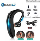 Bluetooth Headset Headphones Earpiece Wireless Android Mobile Phone Hands-free