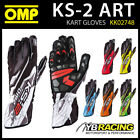 KK02748 OMP KS-2 ART KARTING GLOVES KS2 KART MODERN PRINTED DESIGN 6 COLOURS