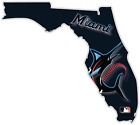 Miami Florida Marlins Baseball Fan Vinyl Sticker Decal Bumper Cornhole Truck Car on Ebay