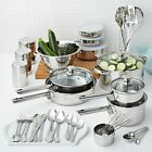 NON STICK COOKWARE SET Stainless Steel 18 Piece 10 Pieces 52 Pieces