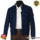 Han Solo Star Wars Empire Strikes Back Harrison Ford Cotton Blue Jacket $60.0 USD on eBay