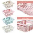 Stretchable Drin Storage Beleaguer Refrigerator Partition Layer Organizer for Kitche.