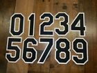 0213 CHICAGO WHITE SOX 8 Inch Number KIT For FRONT Of GRAY Jersey Black on White