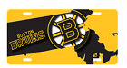 Boston Bruins Ice Hockey NHL Massachusetts State Outline License Plate Car Truck $19.99 USD on eBay
