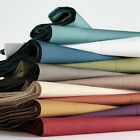 1 PC Fitted Sheet Extra Deep Pocket Egyptian Cotton Solid Colors Cal King Size  image