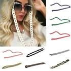 Acrylic Eyeglass Reading Glasses Sunglasses Spectacles Holder Cord Chain N9S9 image