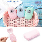 Kyпить Washing Hand Soap Tablets Travel Portable Paper Soap Scented Slice Sheets на еВаy.соm