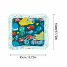 Baby Water Mat Tummy Time Inflatable Play Mat floor Activity Gym Crawling Kids a