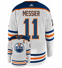 Mark Messier Edmonton Oilers Adidas Authentic Away NHL Vintage Hockey Jersey
