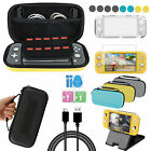 For NS Switch Lite Accessories Set Carrying Case Bag Screen Protector Stand