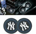 99 Carpro 2.8 Inch Cup Holder Coaster For New York Yankees, 2Pcs Durable Car Int $11.99 USD on eBay