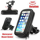 For Apple iPhone Waterproof Mount Case Bike Bicycle Handlebar 360 Rotating Cover