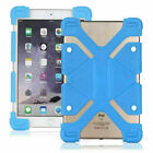 Universal 7.9-9 inch Tablet Soft Silicone Shockproof Stand Protective Case Cover