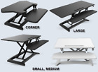 Desk Riser Sit & Stand Workstation, Perfect for Work/Study at Office/Home