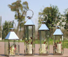 Vintage Garden Lantern	Weatherproof Lights Candle Holder Chic Lamp Patio Décor