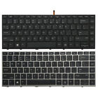 NEW For HP Probook 430 G5, 440 G5, 445 G5, ZHAN 66 X8B Keyboard US Silver Frame