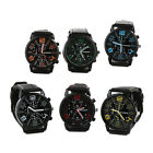 1Pc Men's Watch Business Stainless Steel Date Sport Analog Quartz Wrist Watch US image