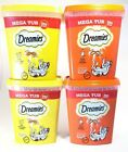 Dreamies MEGA Tub Cat Treats 350gm 2 Delicious Flavours - Cats can't resist them