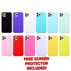 Apple iPhone 4, 5, 5C, 6, 7, 8 Plus, XS, SE Shockproof Glossy Slim Silicone Case