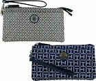 Tommy Hilfiger Womens Wallet Wristlet Pocket Bag Clutch Zip Accessory Logo New