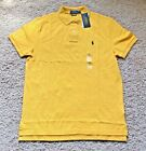 NEW POLO RALPH LAUREN CUSTOM SLIM FIT MESH MENS SHIRT MSRP 85.00