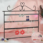 72 Holes Earring Ear Studs Jewelry Showcase Stand Holder Organizer Display Rack