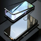 For Samsung S20 Ultra/S20+ Magnetic Tempered Glass Case+Camera Lens Protector