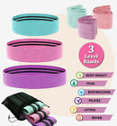 Fabric Resistance Bands Loop Yoga Exercise Hip Circle Booty Leg Fitness Non Slip image