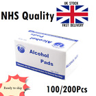 70% Alcohol Swabs Pads Antiseptic Wipes Wet Portable Hand Wash Towel Disposable