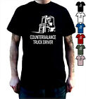 Counterbalance Forklift Truck Driver T Shirt Warehouse Person Xmas Birthday Gift