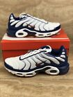 Nike Air Max Plus Tn Mens Running Shoes Red White Blue Patriotic Sneakers
