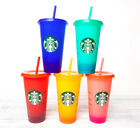 Kyпить  STARBUCKS - 2020 COLOR CHANGING REUSABLE COLD CUPS - 24oz - NEW - YOU CHOOSE! на еВаy.соm